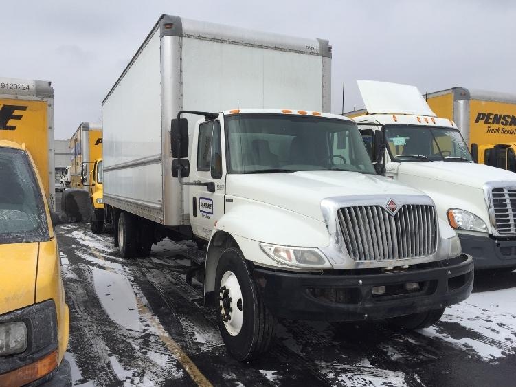 Medium Duty Box Truck-Light and Medium Duty Trucks-International-2010-4300-INDIANAPOLIS-IN-221,920 miles-$25,000
