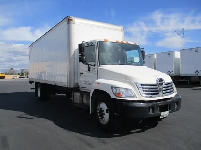 Medium Duty Box Truck-Light and Medium Duty Trucks-Hino-2010-338-TORRANCE-CA-212,593 miles-$22,750