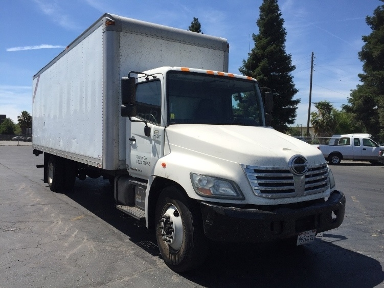 Medium Duty Box Truck-Light and Medium Duty Trucks-Hino-2010-338-WEST SACRAMENTO-CA-312,870 miles-$16,000