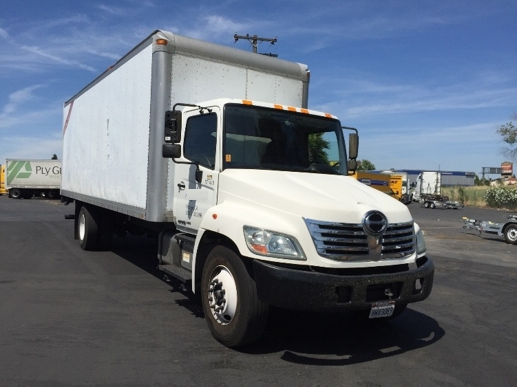 Medium Duty Box Truck-Light and Medium Duty Trucks-Hino-2010-338-WEST SACRAMENTO-CA-367,240 miles-$16,000