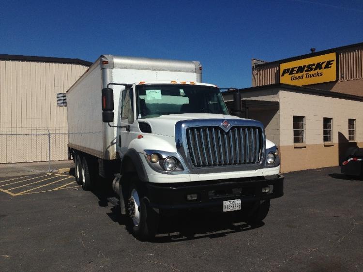 Medium Duty Box Truck-Light and Medium Duty Trucks-International-2009-7600-DALLAS-TX-379,974 miles-$32,750