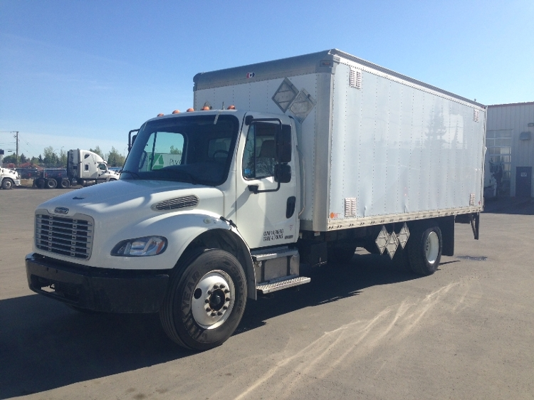 Medium Duty Box Truck-Light and Medium Duty Trucks-Freightliner-2010-M2-CALGARY-AB-125,345 km-$39,500