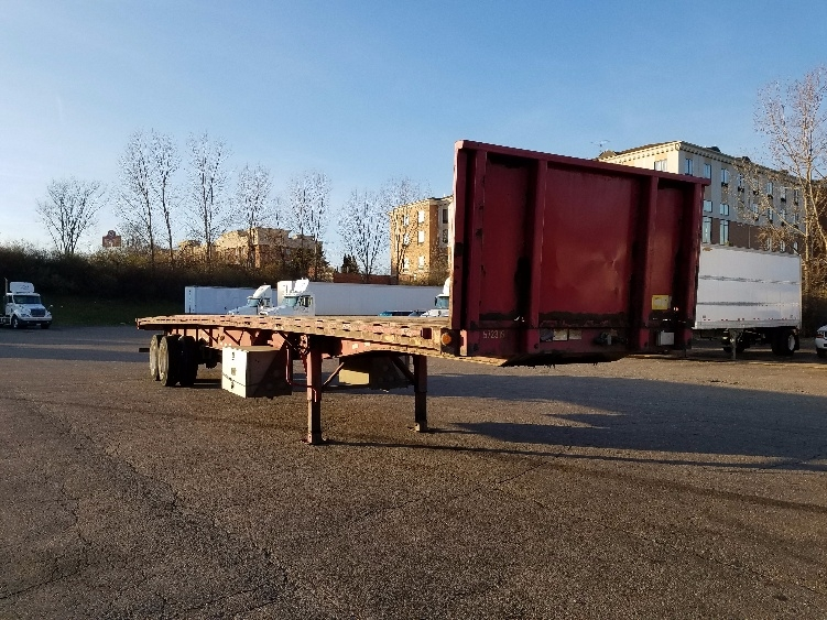Flatbed Trailer-Semi Trailers-Great Dane-2010-Trailer-AKRON-OH-270,389 miles-$11,750