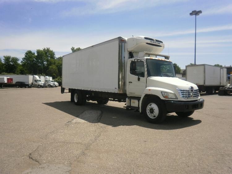 Reefer Truck-Light and Medium Duty Trucks-Hino-2010-268-AKRON-OH-104,406 miles-$41,250