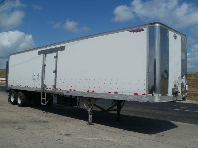 Dry Van Trailer-Semi Trailers-Great Dane-2010-Trailer-WACO-TX-286,536 miles-$11,000