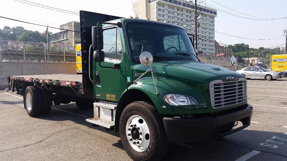 Flatbed Truck-Light and Medium Duty Trucks-Freightliner-2010-M2-NORTH BERGEN-NJ-108,769 miles-$29,500