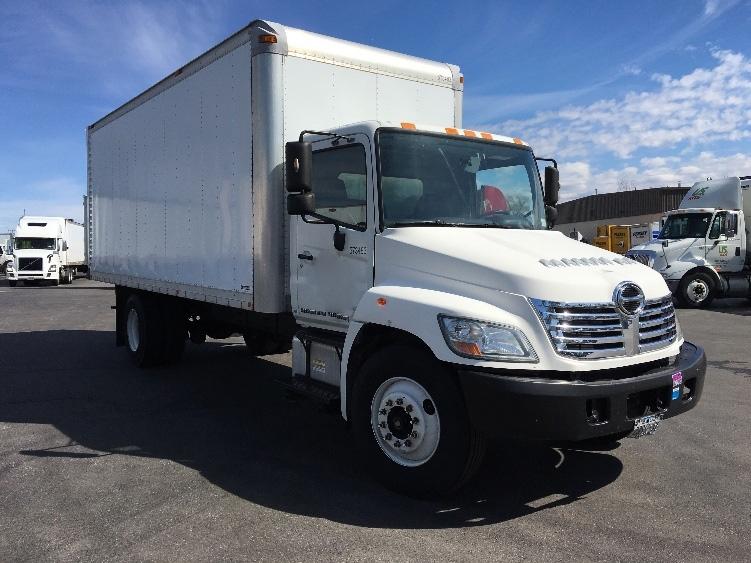 Medium Duty Box Truck-Light and Medium Duty Trucks-Hino-2010-268-BUFFALO-NY-203,279 miles-$22,000
