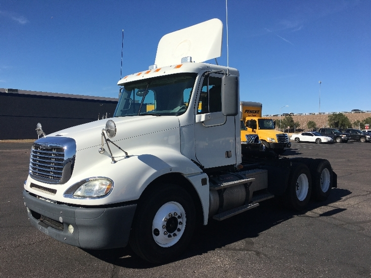 Day Cab Tractor-Heavy Duty Tractors-Freightliner-2009-Columbia CL12064ST-PHOENIX-AZ-347,332 miles-$38,500