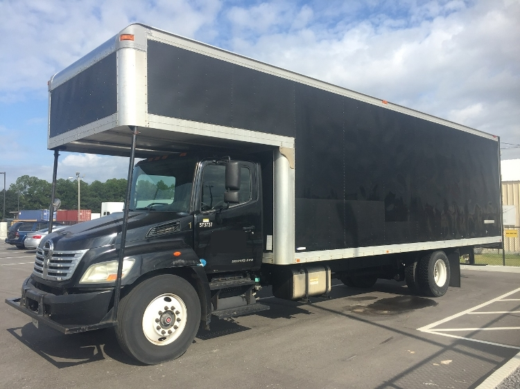 Medium Duty Box Truck-Light and Medium Duty Trucks-Hino-2010-268-MOBILE-AL-347,876 miles-$19,250