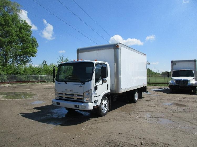 Medium Duty Box Truck-Light and Medium Duty Trucks-Isuzu-2010-NQR-SPRINGFIELD-IL-218,716 miles-$18,250