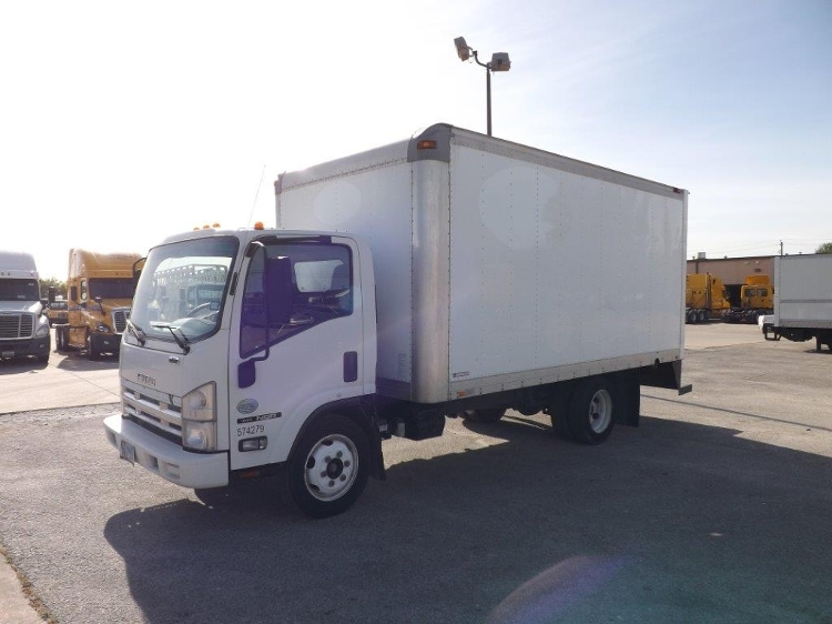 Medium Duty Box Truck-Light and Medium Duty Trucks-Isuzu-2010-NQR-HOUSTON-TX-190,389 miles-$18,500