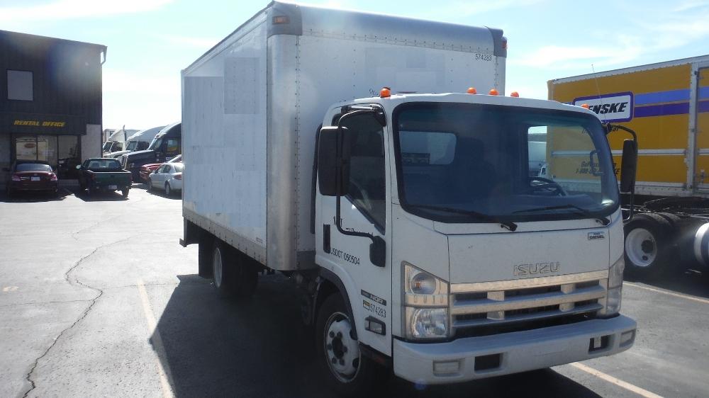 Medium Duty Box Truck-Light and Medium Duty Trucks-Isuzu-2010-NQR-INDIANAPOLIS-IN-228,220 miles-$12,500