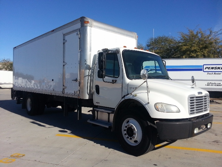 Medium Duty Box Truck-Light and Medium Duty Trucks-Freightliner-2010-M2-PHOENIX-AZ-117,730 miles-$41,500