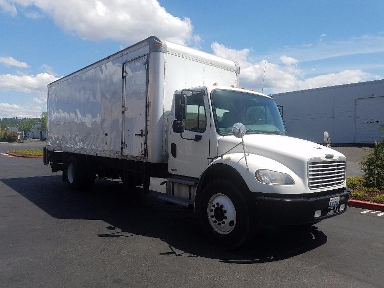 Medium Duty Box Truck-TRUCK-Freightliner-2010-M2-KENT-WA-188,390 miles-$30,250