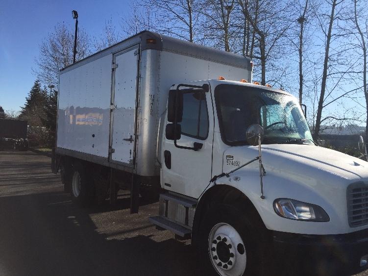 Medium Duty Box Truck-Light and Medium Duty Trucks-Freightliner-2010-M2-CLACKAMAS-OR-129,854 miles-$33,750