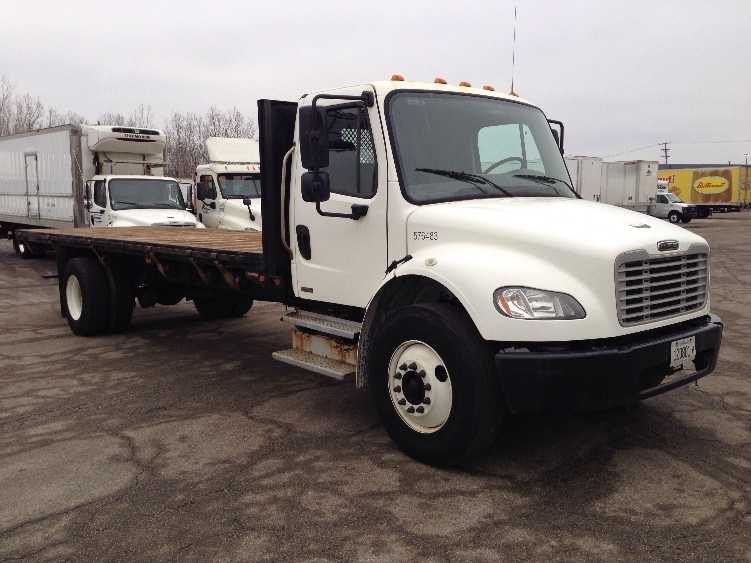 Flatbed Truck-Light and Medium Duty Trucks-Freightliner-2010-M2-CHICAGO RIDGE-IL-125,525 miles-$33,250