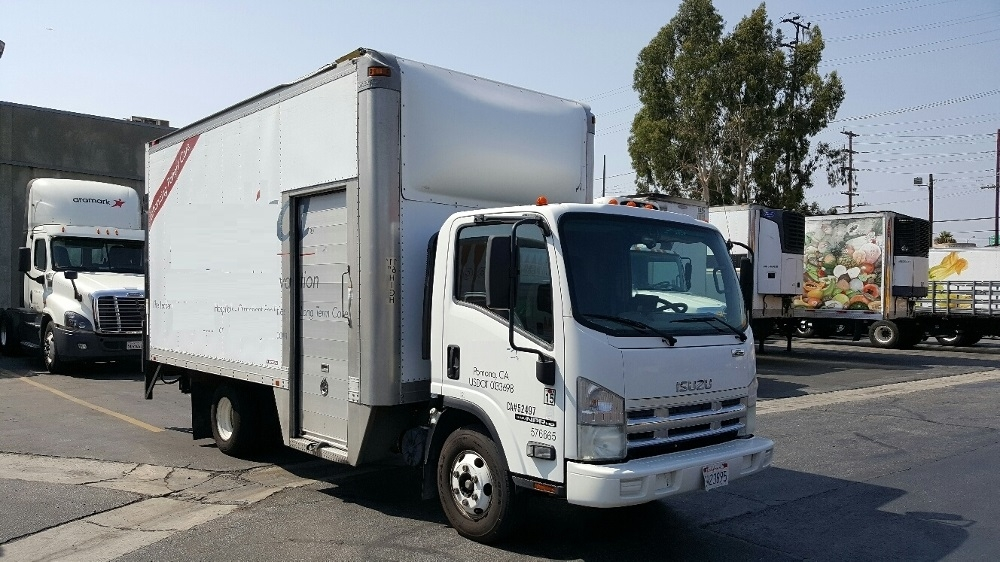 Medium Duty Box Truck-Light and Medium Duty Trucks-Isuzu-2010-NPR-TORRANCE-CA-152,891 miles-$22,250