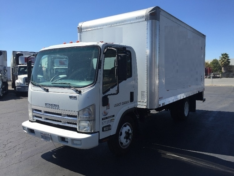 Medium Duty Box Truck-Light and Medium Duty Trucks-Isuzu-2010-NQR-WEST SACRAMENTO-CA-198,390 miles-$20,500