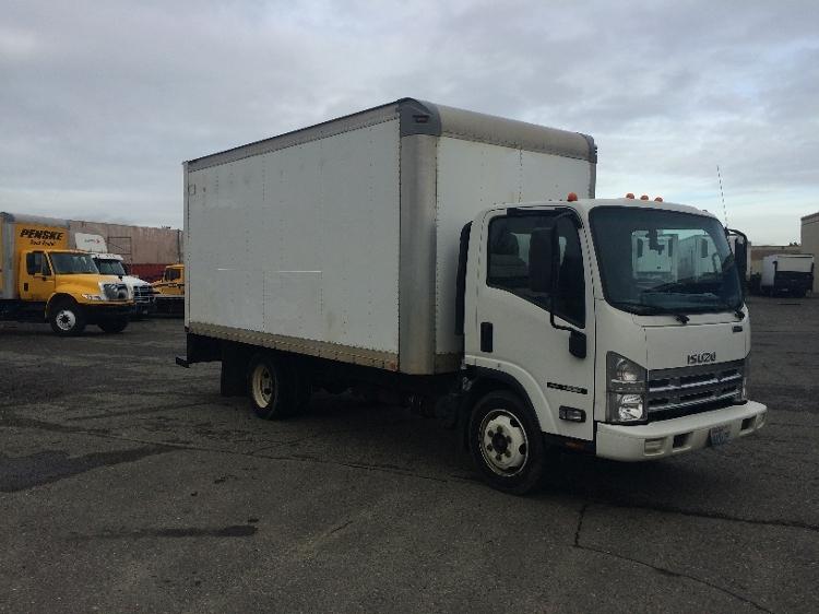 Medium Duty Box Truck-Light and Medium Duty Trucks-Isuzu-2010-NQR-LAKEWOOD-WA-145,700 miles-$25,000