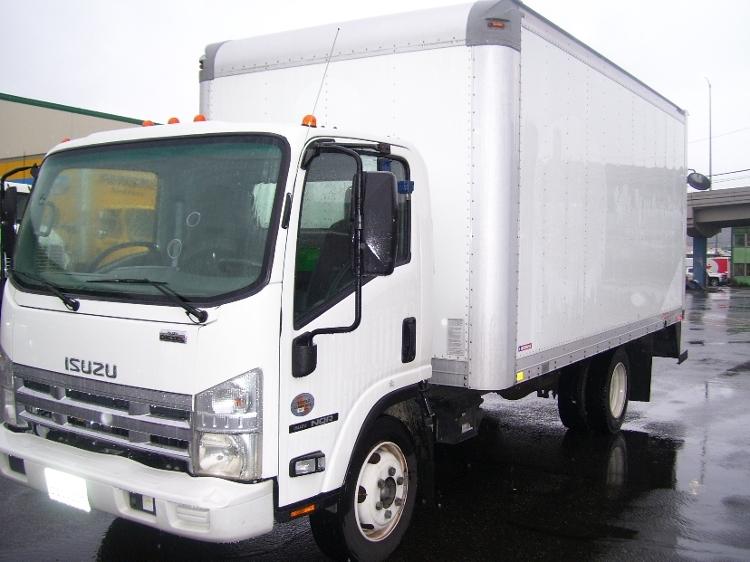Medium Duty Box Truck-Light and Medium Duty Trucks-Isuzu-2010-NQR-SEATTLE-WA-99,784 miles-$27,250