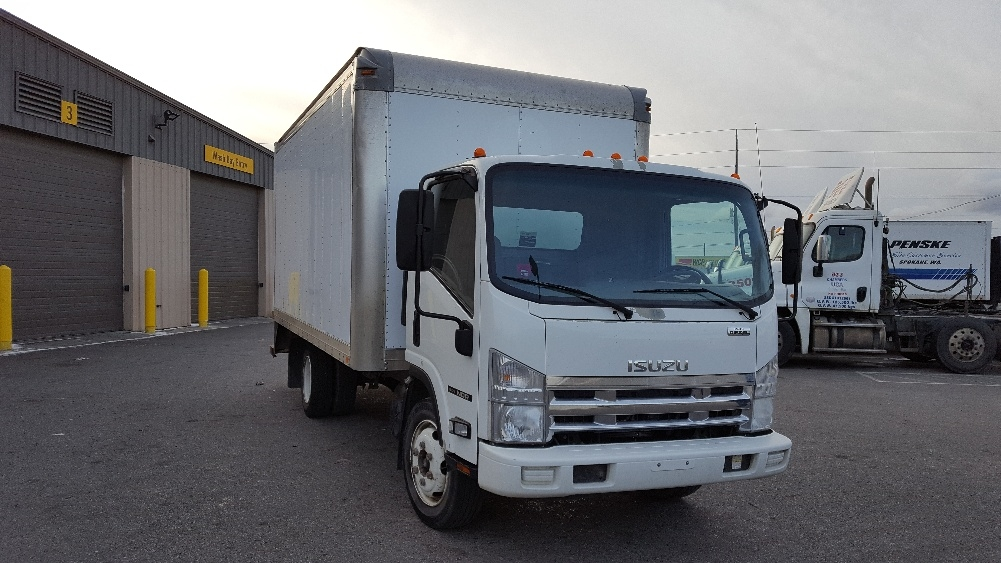 Medium Duty Box Truck-Light and Medium Duty Trucks-Isuzu-2010-NQR-SPOKANE VALLEY-WA-174,777 miles-$20,250