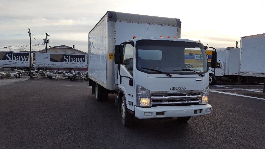 Medium Duty Box Truck-Light and Medium Duty Trucks-Isuzu-2010-NQR-SPOKANE VALLEY-WA-190,742 miles-$19,750