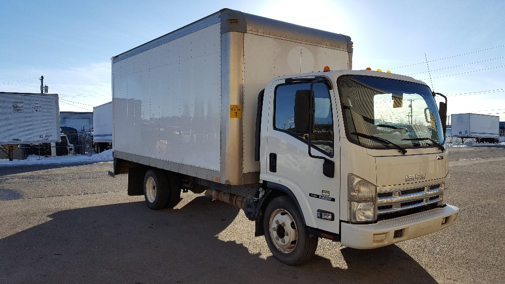 Medium Duty Box Truck-Light and Medium Duty Trucks-Isuzu-2010-NQR-SPOKANE VALLEY-WA-221,566 miles-$17,000