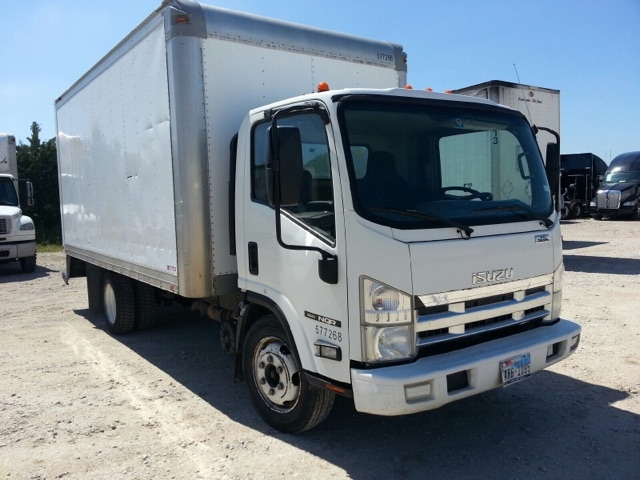 Medium Duty Box Truck-Light and Medium Duty Trucks-Isuzu-2010-NQR-DALLAS-TX-167,522 miles-$22,750