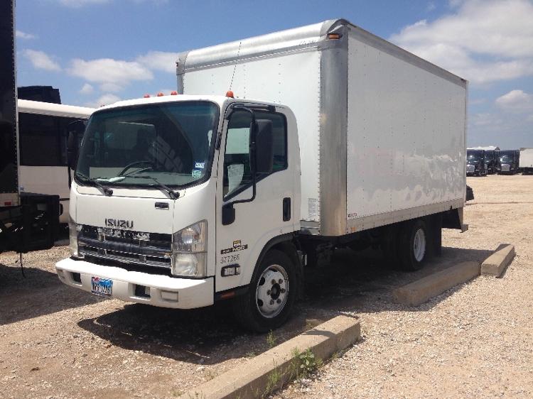 Medium Duty Box Truck-Light and Medium Duty Trucks-Isuzu-2010-NQR-DALLAS-TX-196,586 miles-$17,750