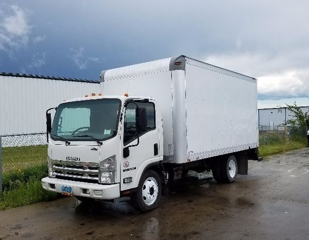 Medium Duty Box Truck-Light and Medium Duty Trucks-Isuzu-2010-NQR-FARGO-ND-200,894 miles-$19,500
