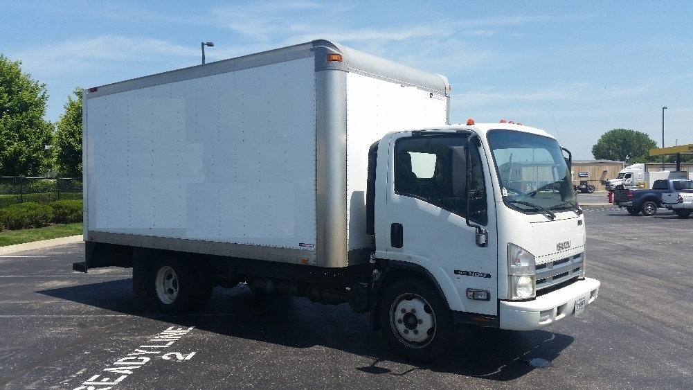 Medium Duty Box Truck-Light and Medium Duty Trucks-Isuzu-2010-NQR-KANSAS CITY-MO-200,276 miles-$19,750