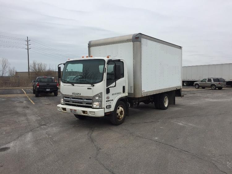 Medium Duty Box Truck-Light and Medium Duty Trucks-Isuzu-2010-NQR-BROOK PARK-OH-147,713 miles-$17,250