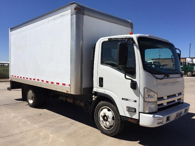 Medium Duty Box Truck-Light and Medium Duty Trucks-Isuzu-2010-NQR-LUBBOCK-TX-206,841 miles-$21,000