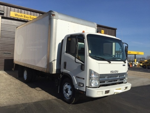 Medium Duty Box Truck-Light and Medium Duty Trucks-Isuzu-2010-NQR-PENNSAUKEN-NJ-177,143 miles-$20,250