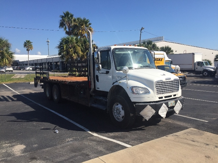 Flatbed Truck-Light and Medium Duty Trucks-Freightliner-2010-M2-ORLANDO-FL-227,000 miles-$44,000