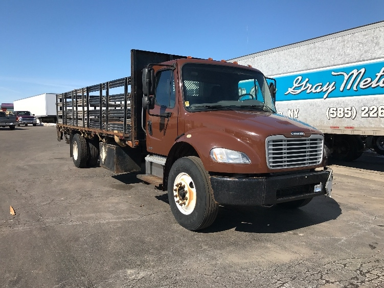 Flatbed Truck-Light and Medium Duty Trucks-Freightliner-2010-M2-ROCHESTER-NY-278,039 miles-$17,750