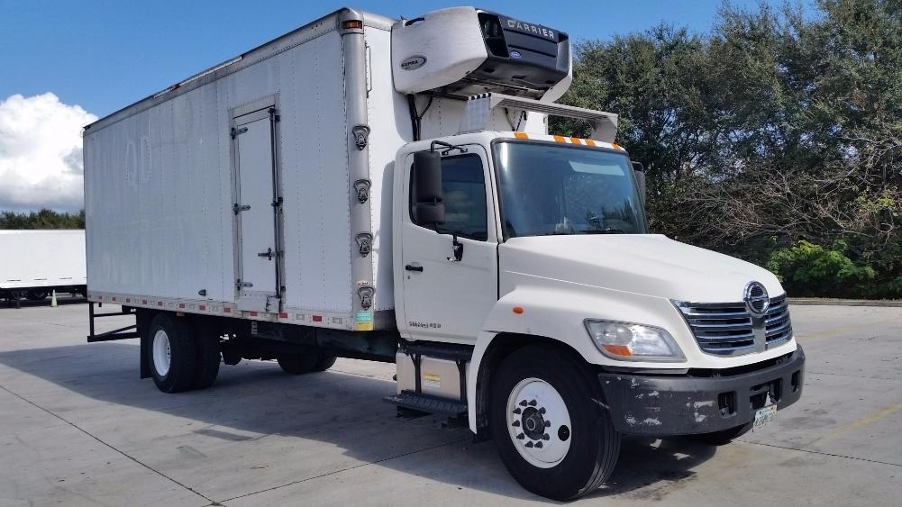 Reefer Truck-Light and Medium Duty Trucks-Hino-2010-338-ORLANDO-FL-261,095 miles-$26,000