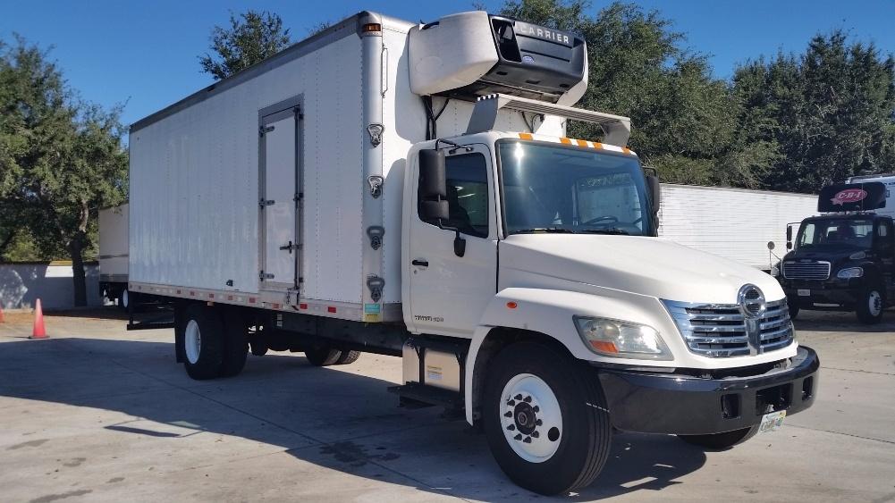 Reefer Truck-Light and Medium Duty Trucks-Hino-2010-338-ORLANDO-FL-251,439 miles-$27,250