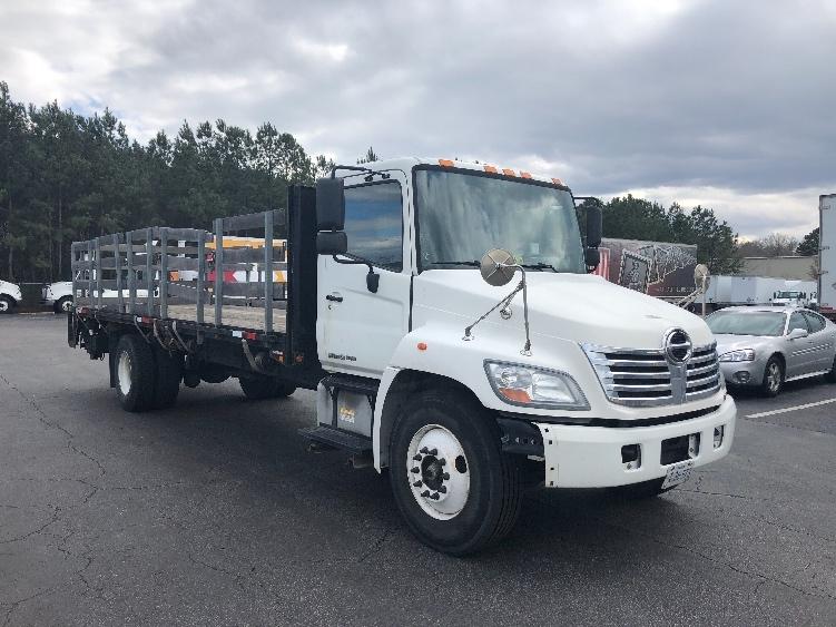 Flatbed Truck-Light and Medium Duty Trucks-Hino-2010-268-CHESAPEAKE-VA-104,242 miles-$32,750