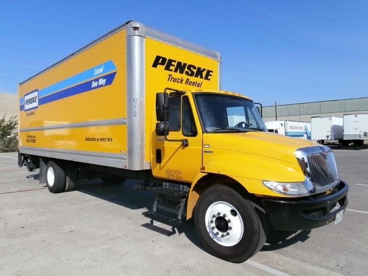 Medium Duty Box Truck-Light and Medium Duty Trucks-International-2011-4300-SAN ANTONIO-TX-224,381 miles-$21,250