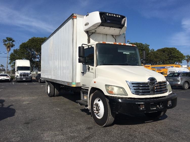 Reefer Truck-Light and Medium Duty Trucks-Hino-2010-338-MEDLEY-FL-111,085 miles-$32,250