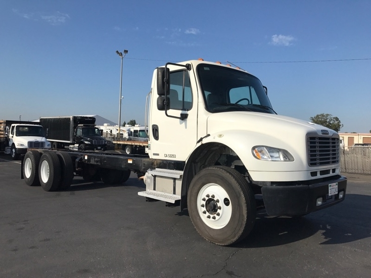 Cab and Chassis Truck-Light and Medium Duty Trucks-Freightliner-2011-M2-TORRANCE-CA-132,387 miles-$39,750