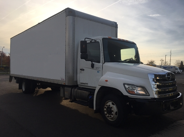 Medium Duty Box Truck-Light and Medium Duty Trucks-Hino-2011-258LP-KENTWOOD-MI-198,920 miles-$29,500