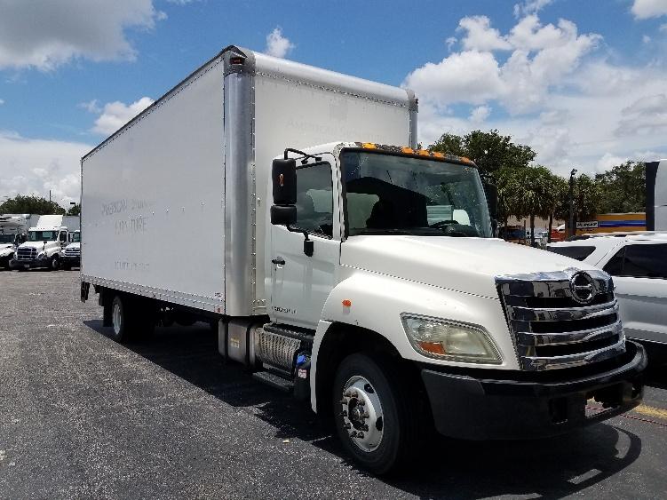 Medium Duty Box Truck-Light and Medium Duty Trucks-Hino-2011-258LP-ORLANDO-FL-132,905 miles-$39,000