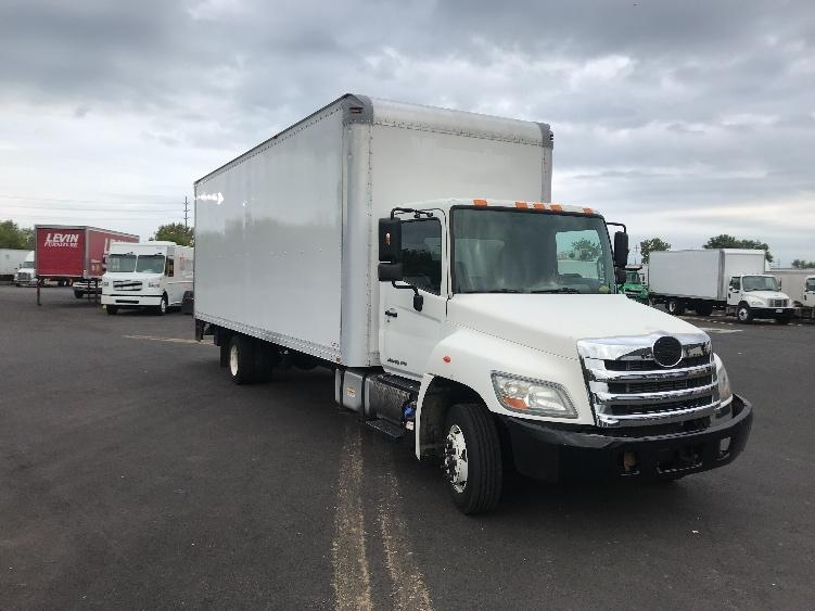 Medium Duty Box Truck-Light and Medium Duty Trucks-Hino-2011-258LP-BROOK PARK-OH-102,860 miles-$36,500