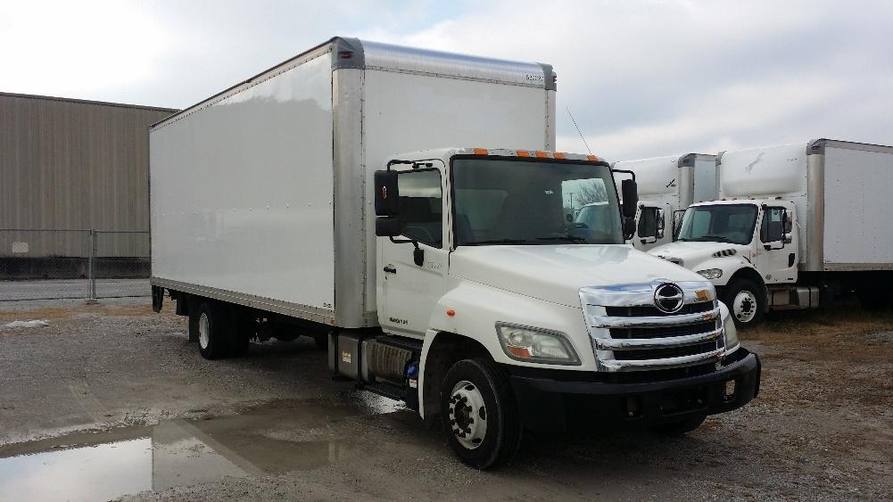 Medium Duty Box Truck-Light and Medium Duty Trucks-Hino-2011-258LP-LOUISVILLE-KY-155,737 miles-$32,500