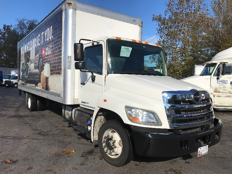 Medium Duty Box Truck-Light and Medium Duty Trucks-Hino-2011-258LP-CAPITOL HEIGHTS-MD-130,654 miles-$29,500