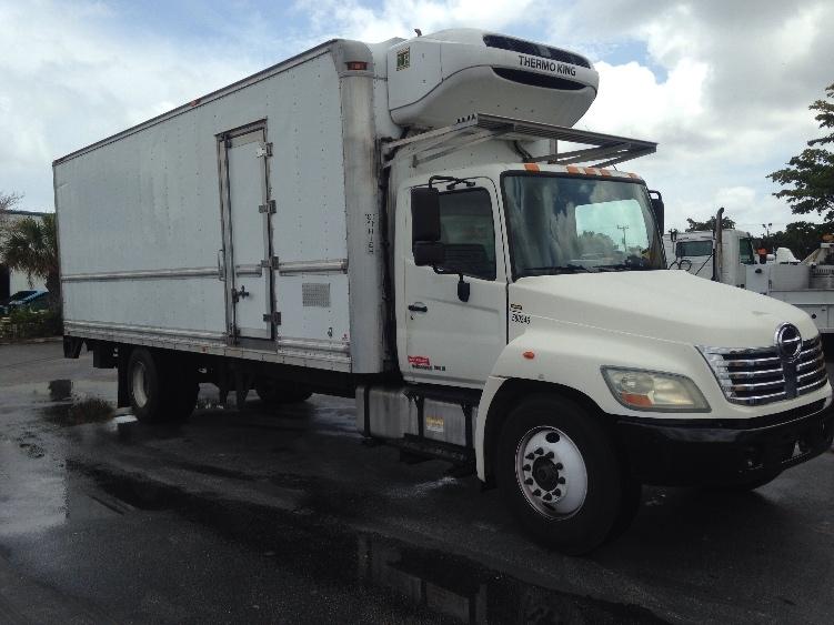 Reefer Truck-Light and Medium Duty Trucks-Hino-2010-268-RIVIERA BEACH-FL-187,432 miles-$36,000