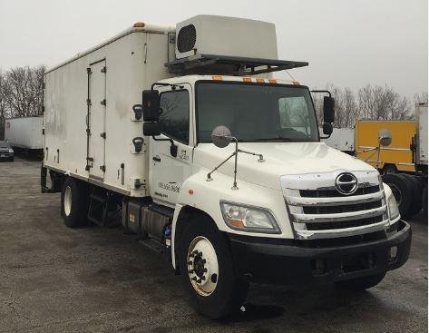 Cold Plate-Light and Medium Duty Trucks-Hino-2011-268-CHICAGO RIDGE-IL-190,730 miles-$11,000
