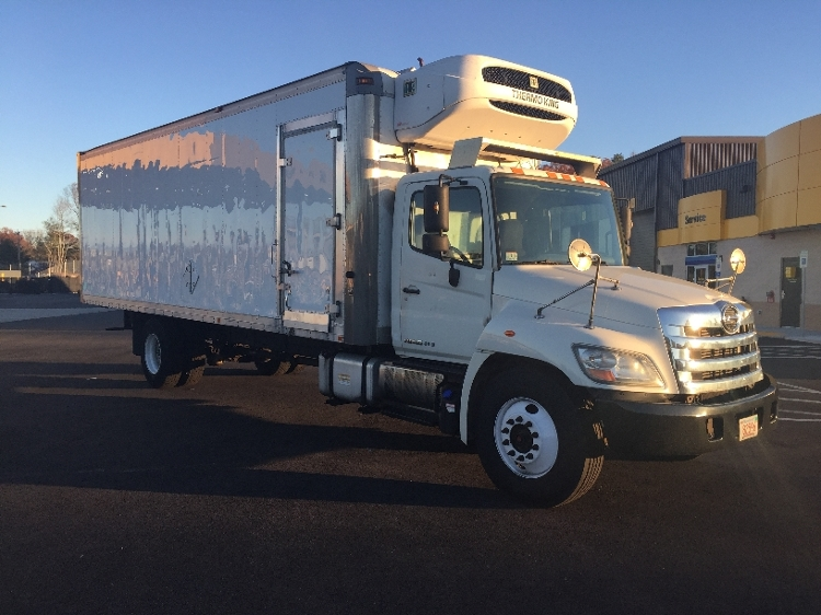 Reefer Truck-Light and Medium Duty Trucks-Hino-2011-338-NORTON-MA-186,839 miles-$31,500